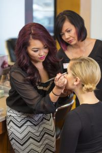 Our instructors teach up-to-date trends in make-up and more!