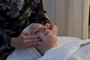 Facials are one of the many skills our students learn.
