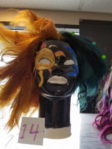 MSC-Plymouth's winner for Halloween mannequin contest