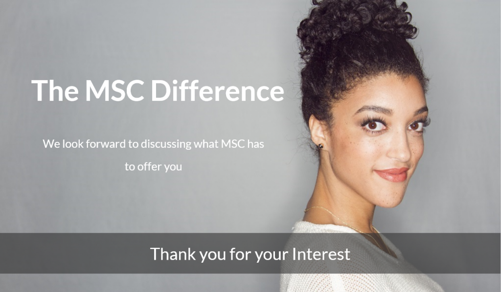 the MSC difference