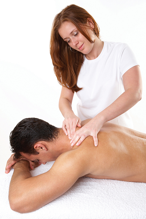 massage therapy student at MSC