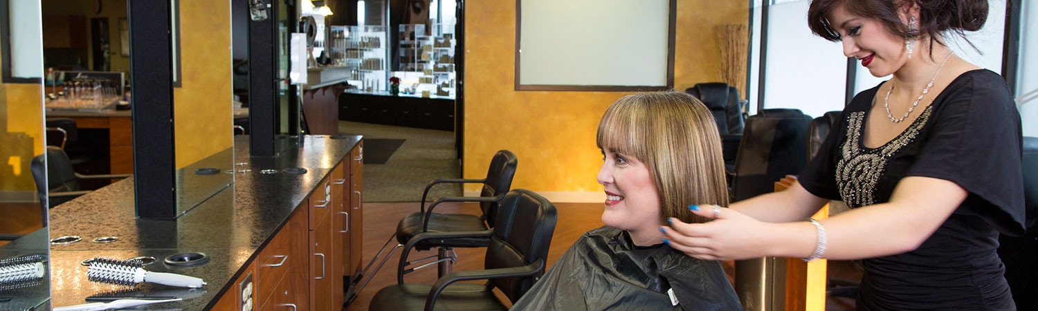 Receive salon-quality services at a discounted price from our cosmetology students.
