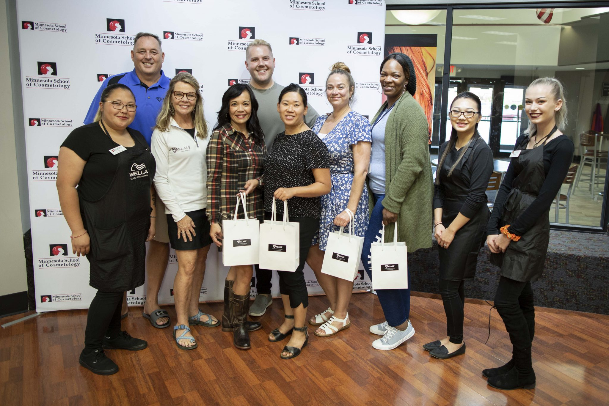 MSC and KLASS Cosmetics Give Back to The Women of Nations Eagle's Nest Shelter
